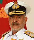 Admiral DK Joshi Chief of the Naval Staff